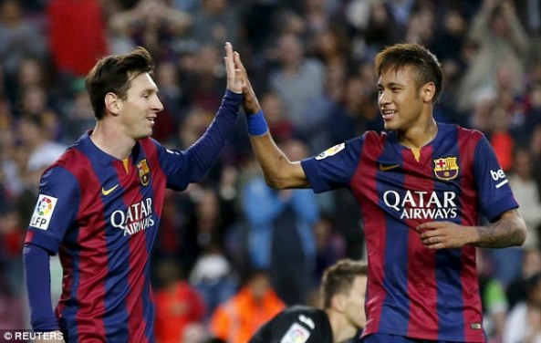 messi and neyma